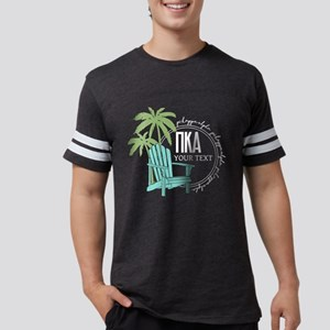 Pi Kappa Alpha Palm Chair Pers Mens Football Shirt