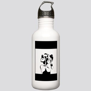 Pose Art Print Stainless Water Bottle 1.0L