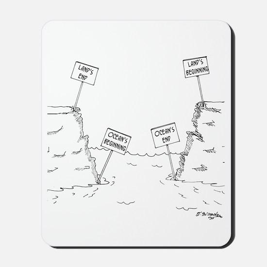 Land's End & Beginning Mousepad