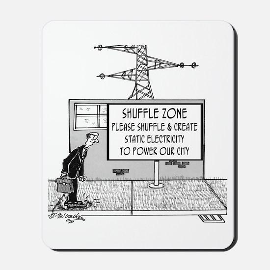 Shuffle Zone Mousepad