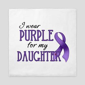 Wear Purple - Daughter Queen Duvet