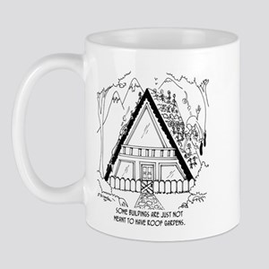 Bad Garden Roof Placement Mug