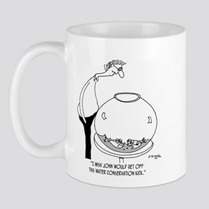 Fish Hate Water Conservation Mug
