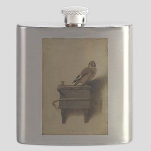 Carel Fabritius The Goldfinch Flask