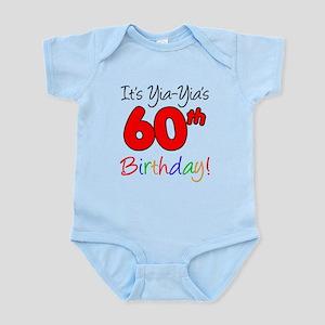 Yia-Yia's 60th Birthday Infant Bodysuit