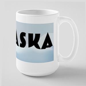 Alaska Record Snow Large Mug