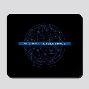 USAF Air Space Cyberspace Mousepad