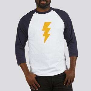 Yellow Flash Lightning Bolt Baseball Jersey