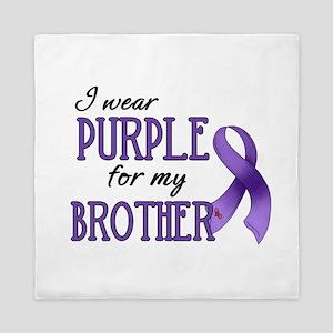 Wear Purple - Brother Queen Duvet