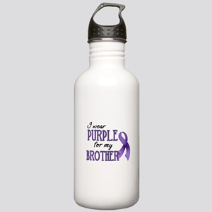 Wear Purple - Brother Stainless Water Bottle 1.0L