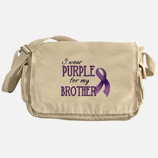 Wear Purple - Brother Messenger Bag