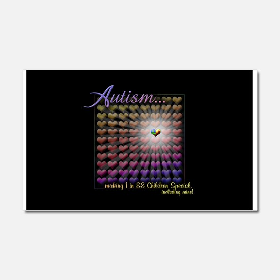 Autism - 1 in 88 Special Car Magnet 20 x 12