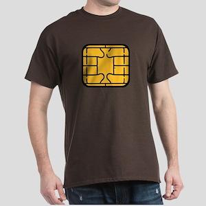Chip Microchip Dark T-Shirt
