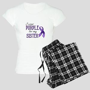 Wear Purple - Sister Women's Light Pajamas