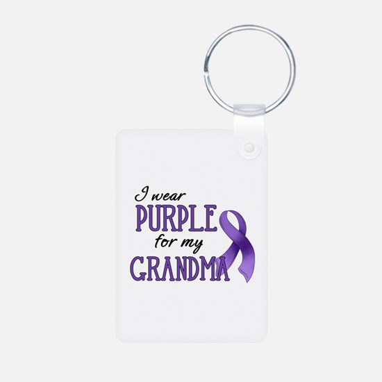 Wear Purple - Grandma Keychains