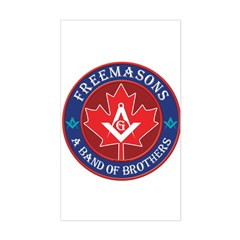 Canadian Band of Brothers Sticker (Rectangle)