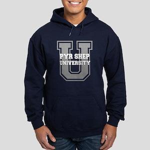 Pyr Shep UNIVERSITY Hoodie (dark)