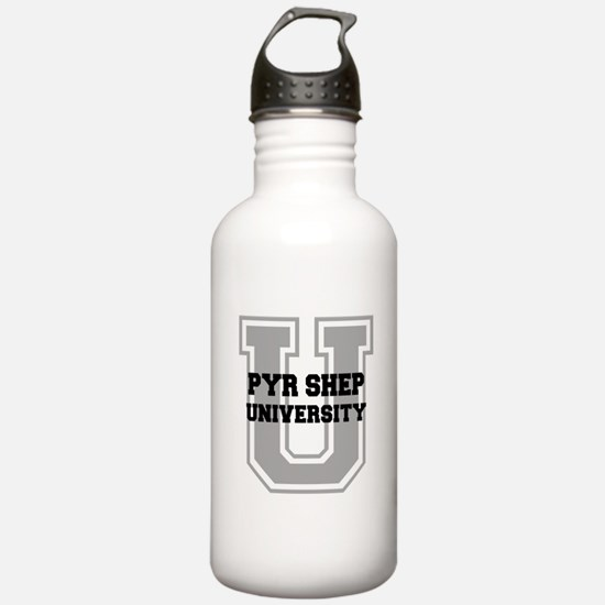 Pyr Shep UNIVERSITY Water Bottle