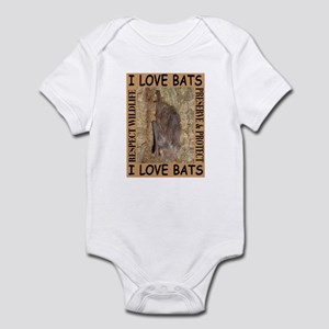 I Love Bats Infant Creeper