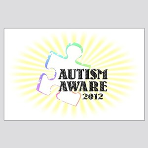 Autism Aware 2012 Large Poster