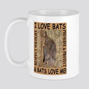 I Love Bats & Bats Love Me Mug