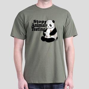 Stop Animal Testing Dark T-Shirt