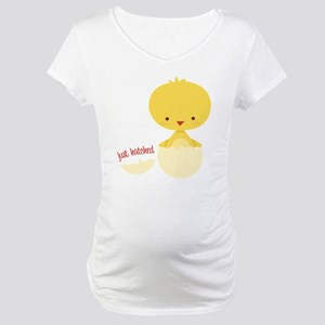 Just Hatched Chicken Maternity T-Shirt