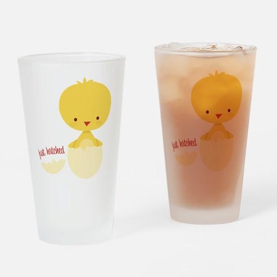 Just Hatched Chicken Drinking Glass