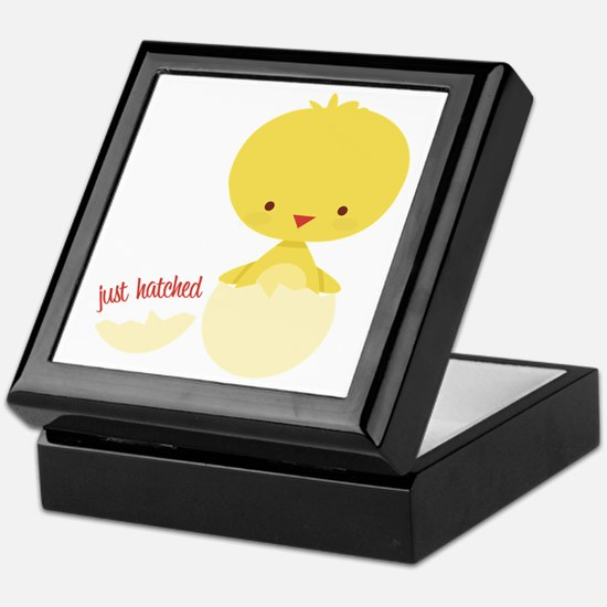 Just Hatched Chicken Keepsake Box