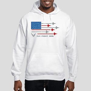 USAF Fly Fight Win Hooded Sweatshirt