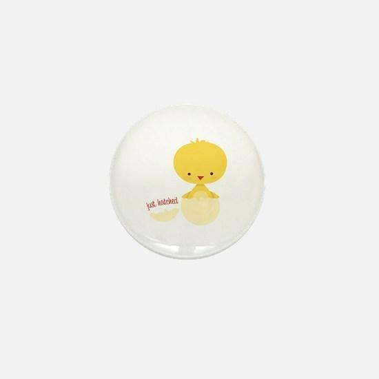 Just Hatched Chicken Mini Button