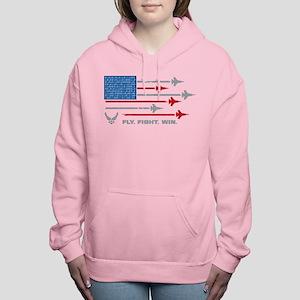 USAF Fly Fight Win Women's Hooded Sweatshirt