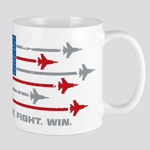 USAF Fly Fight Win 11 oz Ceramic Mug