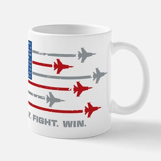 USAF Fly Fight Win Mug