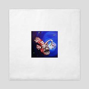 Creepy Fish Queen Duvet