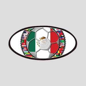 Mexico Flag World Cup No Labe Patches