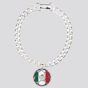 Mexico Flag World Cup No Labe Charm Bracelet, One