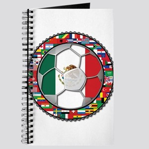 Mexico Flag World Cup No Labe Journal