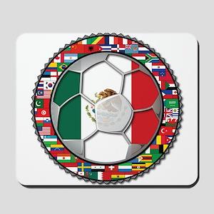 Mexico Flag World Cup No Labe Mousepad