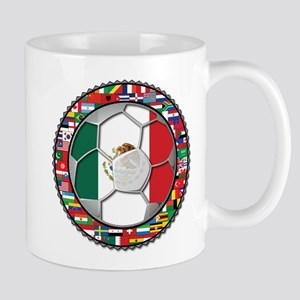 Mexico Flag World Cup No Labe Mug