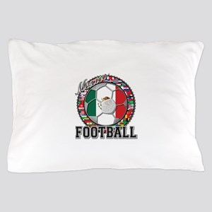 Mexico Flag World Cup Footbal Pillow Case