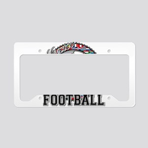 Mexico Flag World Cup Footbal License Plate Holder