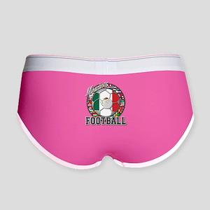 Mexico Flag World Cup Footbal Women's Boy Brief