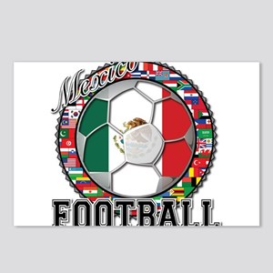 Mexico Flag World Cup Footbal Postcards (Package o