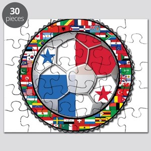 Panama Flag World Cup No Labe Puzzle