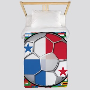Panama Flag World Cup No Labe Twin Duvet