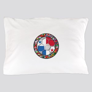 Panama Flag World Cup No Labe Pillow Case