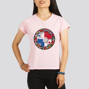 Panama Flag World Cup No Labe Performance Dry T-Sh