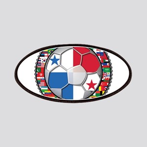Panama Flag World Cup No Labe Patches