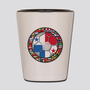 Panama Flag World Cup No Labe Shot Glass